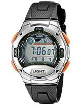 Casio Men's W753-3AV Sport Watch with Black Resin Band