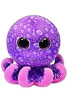 Ty Beanie Boos Legs Octopus Regular Plush, 4.5 Inch, Purple