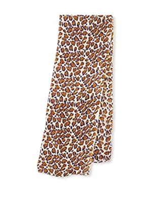 Raj Imports Women's Animal Print Scarf (Tan)