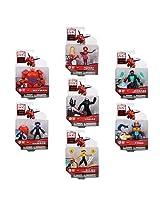 Big Hero 6 Action Figure Set - 7 Characters - Baymax, Yokai, Go Go Tomago, Honey Lemon, Wasabi No-Gi