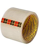 Scotch Transparent BOPP Tape, 3 inch x 50 m - Pack of 4