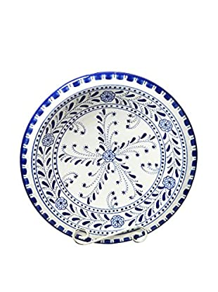 Le Souk Ceramique Azoura Medium Serving Bowl, Blue/White