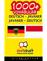 1000+ Deutsch - Javaner Javaner - Deutsch Vokabular