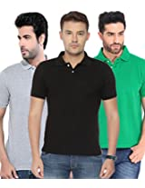 Concepts Men's Casual Shirt (TSHT_C3_GRBKGY_Multi_38)