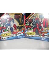 Marvel Mashers Deluxe Sets Bundle #3 (Iron Patriot And Thor)