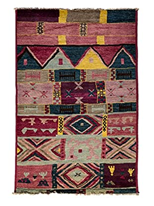 Tribal Collection Oriental Rug, Red, 5' 3