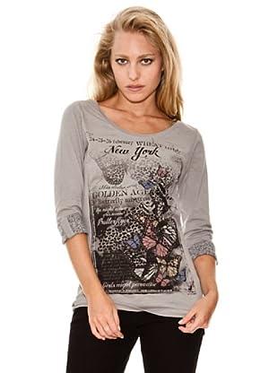 Springfield Camiseta Mariposas (gris)