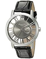 Kenneth Cole Transparency Analog Grey Dial Men'S Watch - 10020809