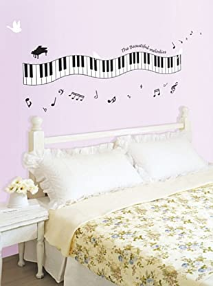 Ambiance Live Vinilo Decorativo Piano melody Multicolor
