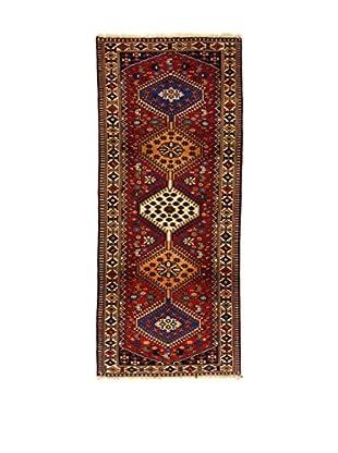 L'Eden del Tappeto Teppich Yalameh rot/mehrfarbig 195t x t83 cm
