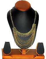 Sawasdee Fashion Thai Metal chain Necklace Set for Woman