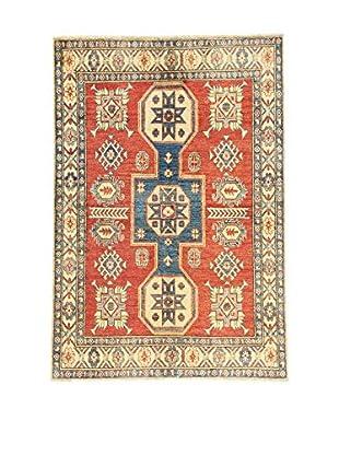 L'Eden del Tappeto Teppich Uzebekistan rot/mehrfarbig 173t x t118 cm