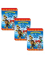 Paw Patrol Party Invitations 24 Pieces