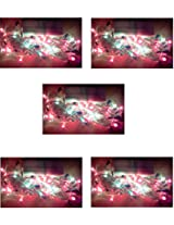 ((PACK OF FIVE)) Diwali Decoration !! Multi color & Function rice light