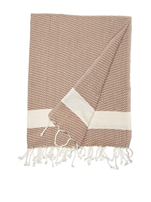 Nine Space Sultanahmet Fouta Towel (Light Coffee)