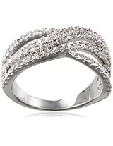 Shaze Ring for Women (Silver) (MOULDED RING SLV 7373:6)
