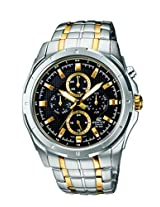 Casio Edifice Analog Black Dial Men's Watch - EF-328SG-1AVDF (ED377)