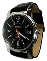 Reebok Black Leather Men Watch