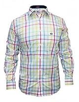 Arrow White Casual Check Shirt