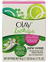 Olay Fresh Effects Dew Over Hydrating Gel Moisturizer 1.7 Fluid Ounce