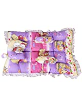 Orange and Orchid Baby Bedding set,Sleeping Bed for Just Born (0-24 Months)