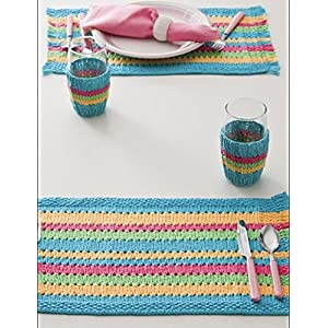 HighKnit Shades Of Rainbow Table Mats