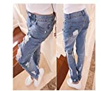 OnlyUrs Korea Purchasing Authentic Female Jeans Feet Pencil Pants Worn Thin Slim Light-Colored Trousers Tide