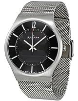 Skagen Analog Black Dial Men's Watch - 833XLSSB1