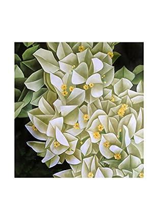 Legendarte Leinwanddruck Tropische Blumen 80x80 cm