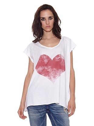 The Hip Tee Camiseta Love You (Blanco)