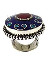 Silver Plated Tribal Rings For Women