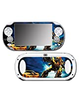 Transformers Bumblebee Autobots Car Auto Robot Video Game Vinyl Decal Skin Sticker Cover For Sony Playstation Vita Regular Fat 1000 Series System
