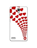 Designer xiaomi Note 4G Case Cover Nutcase - Army Of Hearts