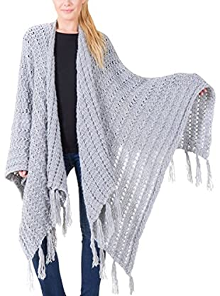 Big Star Poncho Fringe_Sweater