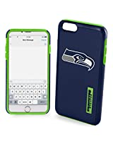 Forever Collectibles - Licensed NFL Cell Phone Case for Apple iPhone 6 Plus / 6s Plus - Retail Packaging - Seattle Seahawks