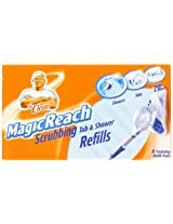 48 COUNT Mr. Clean Magic Reach Scrubbing Tub and Shower Pads, 6 Pack- 8 count ea = 48 refills MagicReach