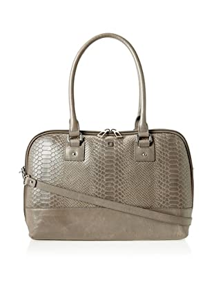 LODIS Women's Highland Kaylee Satchel, Smoke