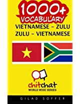 1000+ Vietnamese - Zulu, Zulu - Vietnamese Vocabulary