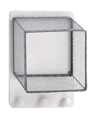 Metal Wall Basket with Hook