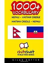 1000+ Nepali - Haitian Creole, Haitian Creole - Nepali Vocabulary