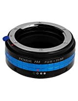 Fotodiox Pro Lens Mount Adapter, Nikon G Lens to Fujifilm X Camera Body (X-Mount), for Fujifilm X-Pro1, X-E1