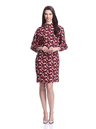 MARNI Women's Printed Shift Dress (Multi)