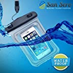 #1 Dry Phone Protector Case : Protect your smartphone from water & damage. Available in 2 colours . In Stock and ships with Amazon.com (Clear : Dry Phone Case)
