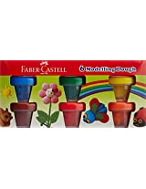 Faber-Castell Modelling Dough - 6 Shades