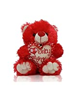 Only You Red Teddy Bear