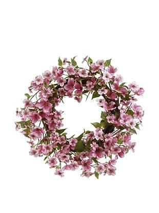 Winward Pink Dogwood Wreath
