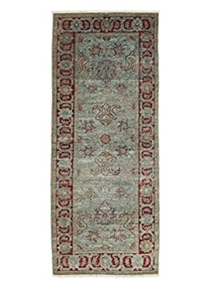 Darya Rugs Ziegler One-of-a-Kind Rug, Light Blue, 3' 2