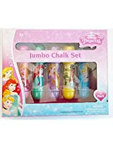Disney Princess Jumbo Chalk Set - 5 Pack