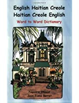 English Haitian Creole Dictionary: Word to Word Dictionary (Billingual Dictionaries)