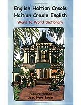 English Haitian Creole Dictionary: Word to Word Dictionary (Billingual Dictionaries)